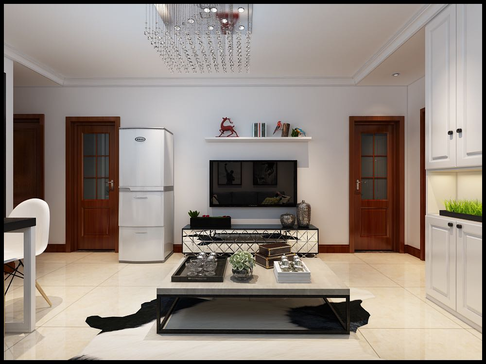 东润国际81平米简约两居室