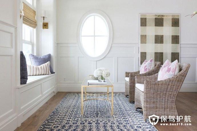 传统的美式风情客厅