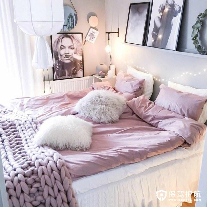 毛绒少女心卧室