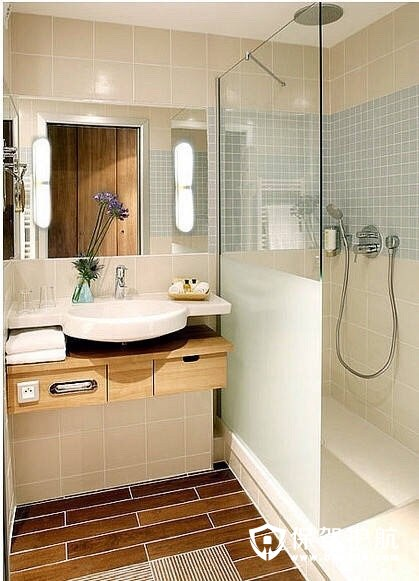 日式小户型洗手间