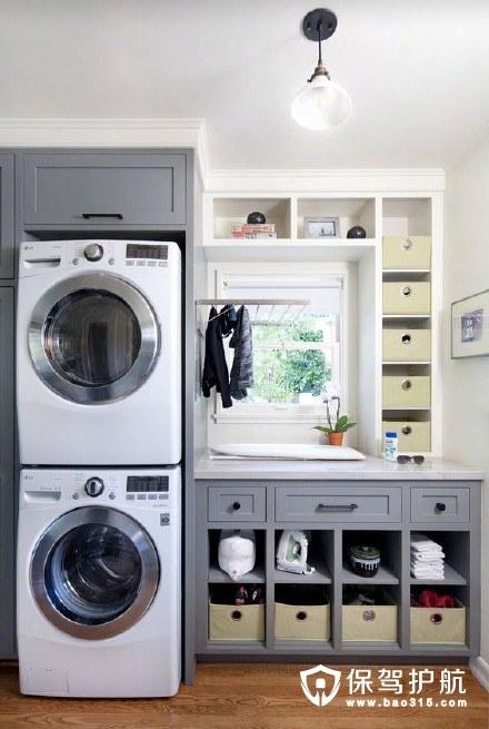 装修时洗衣机可以这样放