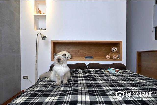 简约清爽卧室设计
