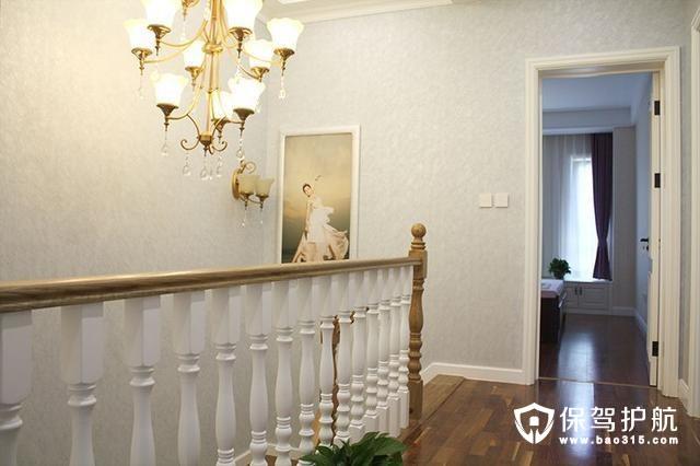 温馨自然简洁楼梯造型