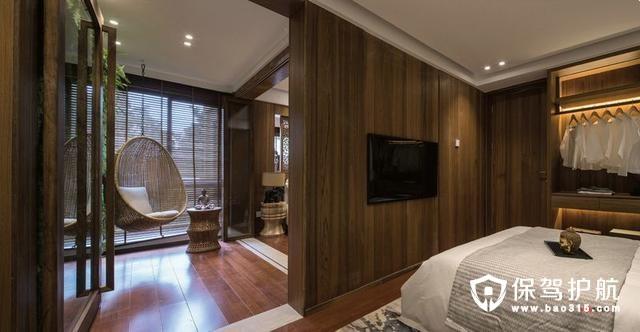 极具东亚气息的卧室