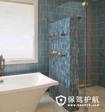 淋浴隔断的材料选择