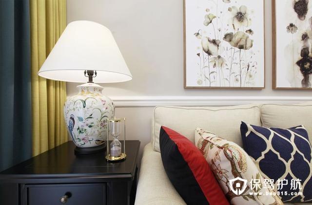 真正美式魅力的沙发背景墙