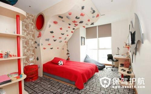 温馨舒适的儿童房设计
