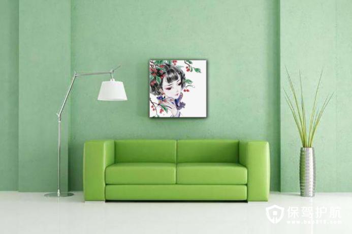 室内装饰画的悬挂位置和方式