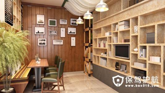 咖啡馆设计装修效果图