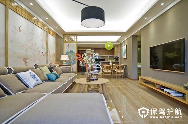 两居室78平米原木日式风格案例