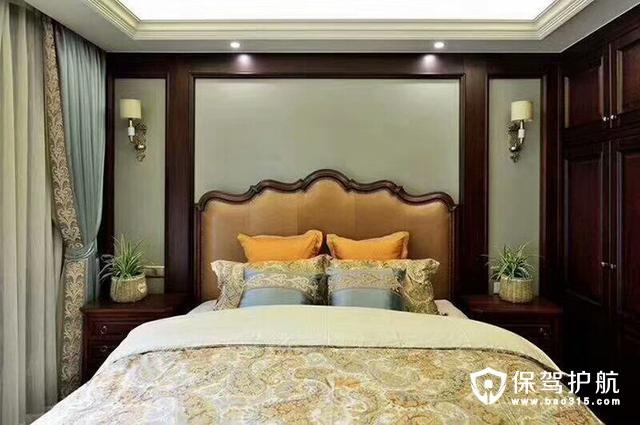 沉稳美式卧室