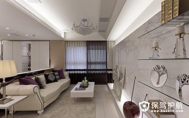 两居室86平米,韩式现代风格