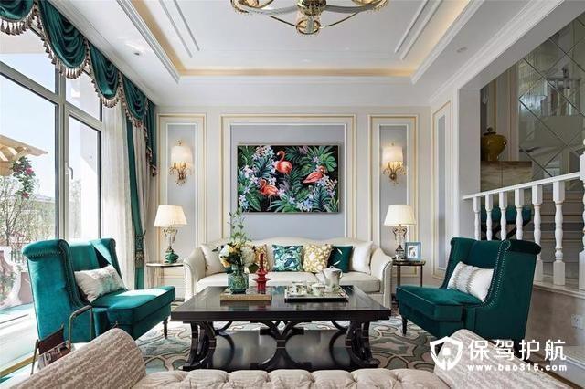 300平美式别墅 舒适和品位兼得