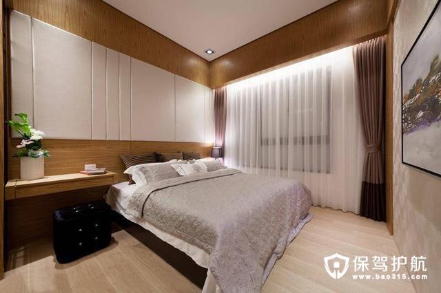 现代日式闲逸卧室