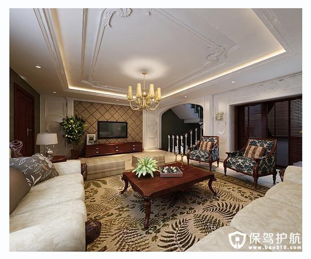 三居室110平方米,现代小资风格