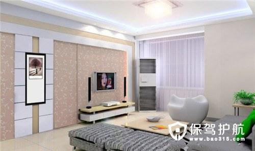 客厅电视墙隐形门装修效果图