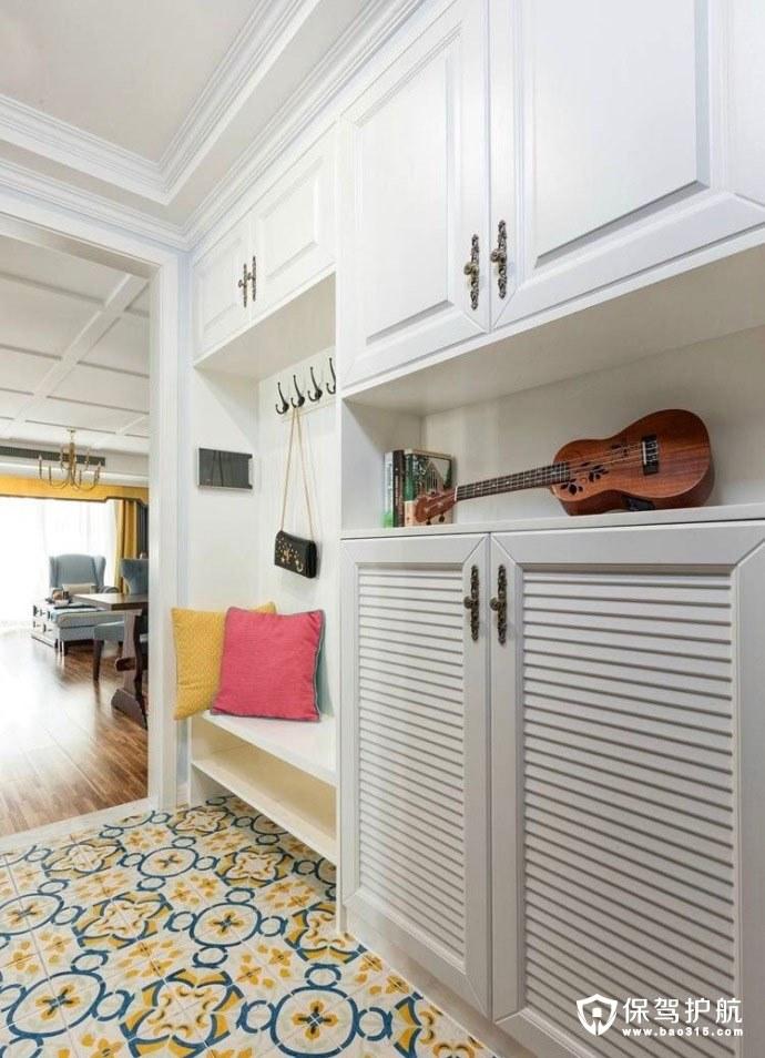 105㎡,两室一厅,美式风格