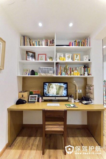 客厅小小的工作区域