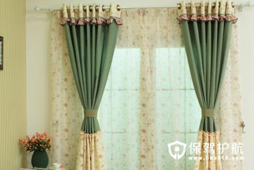 法式田园风格窗帘装饰特点