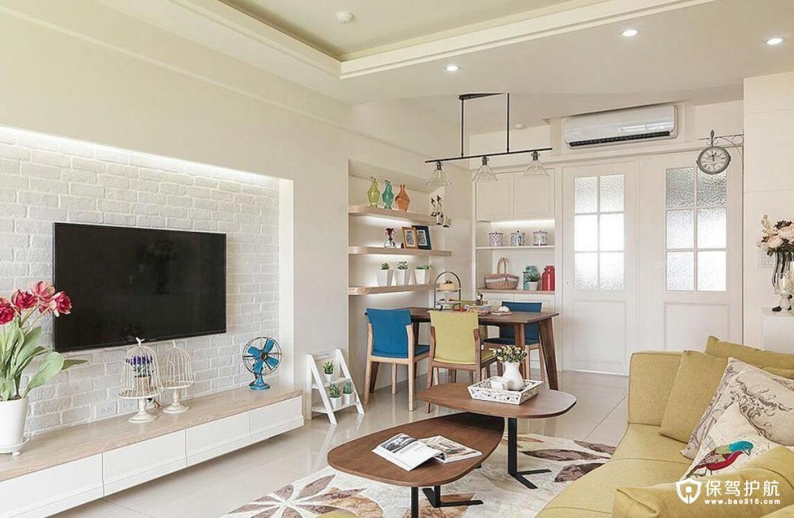 两室一厅装修效果图欣赏