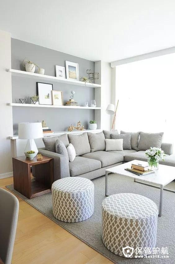 简单而有品位的简约客厅装修效果图