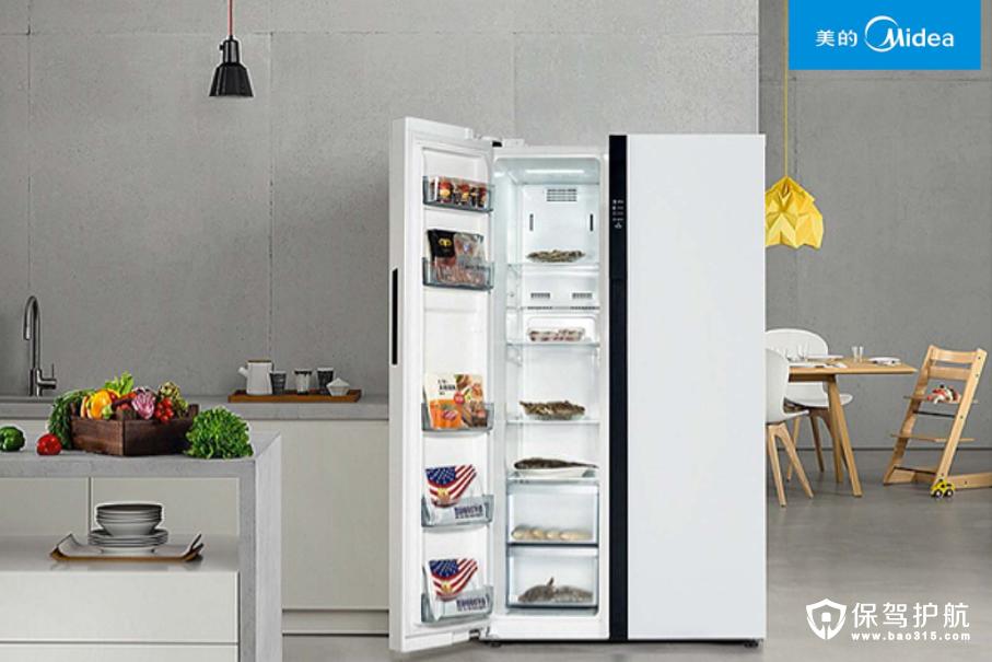 美的冰箱的独创技术和特点