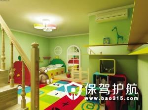 儿童房装修地板铺什么颜色的好呢?