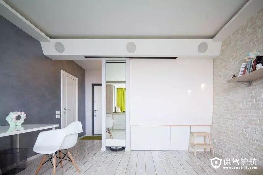 43㎡一居室简约设计