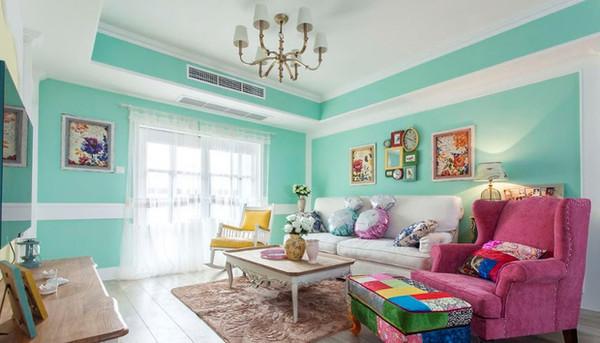 鲁公讲家装 墙上的色彩