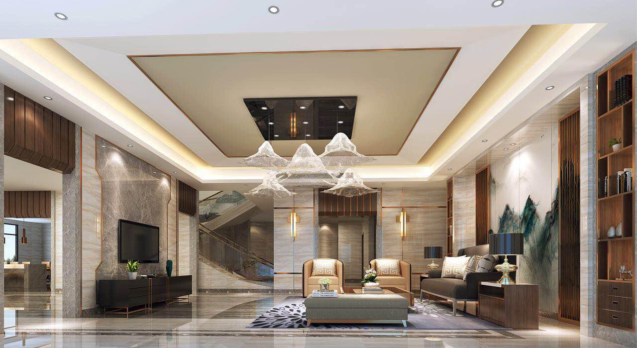 万科虎珀珺豪华别墅装饰设计完工案例