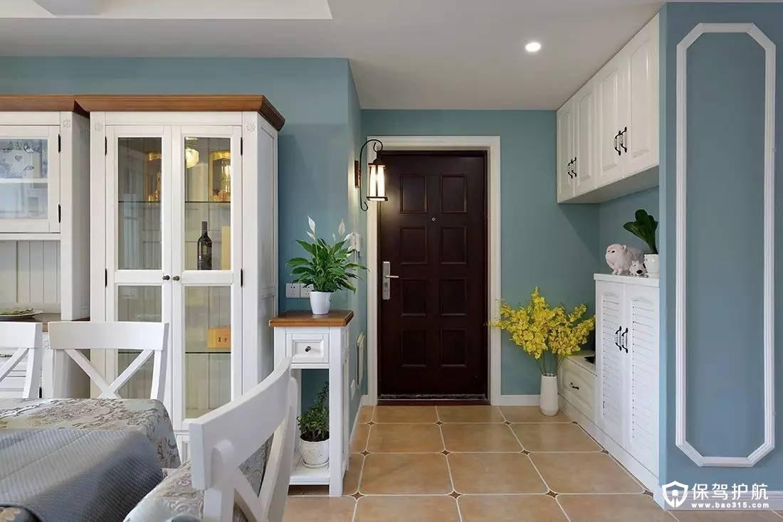 128㎡地中海三居室,精致迷人的设计