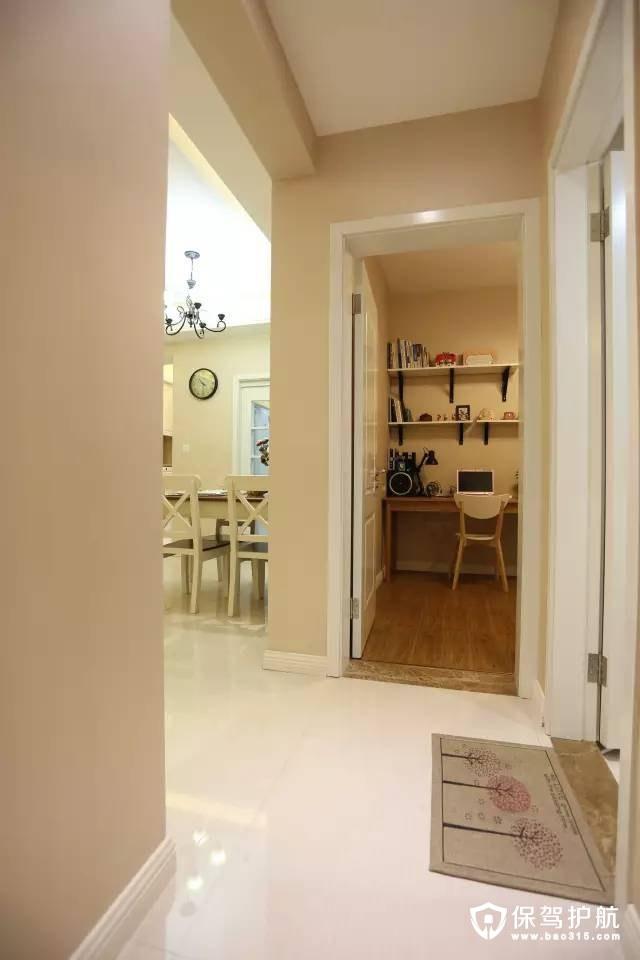 简欧客厅走廊设计
