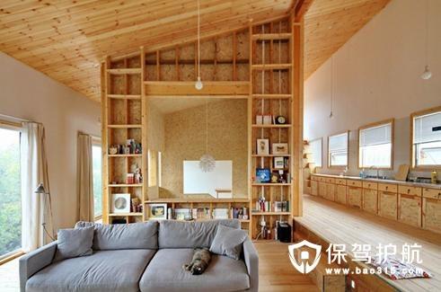 40平小户型复式房子装修设计案例图片