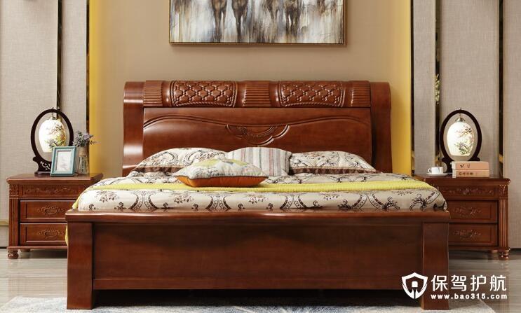 不同风格的实木床选购