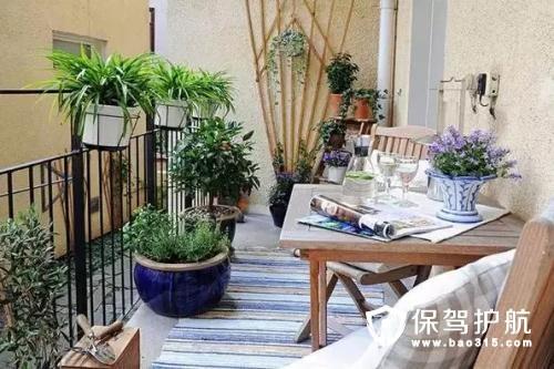 阳台小花园设计技巧