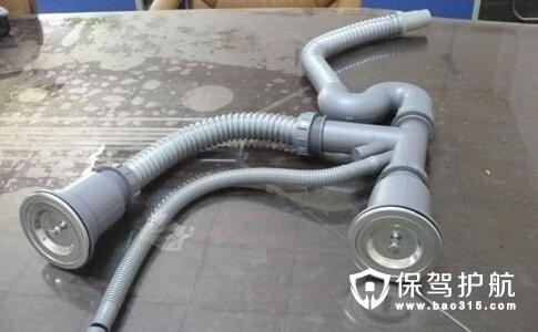 水槽下水器安装