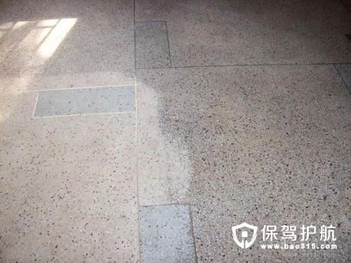 水磨石地板蜡怎么用