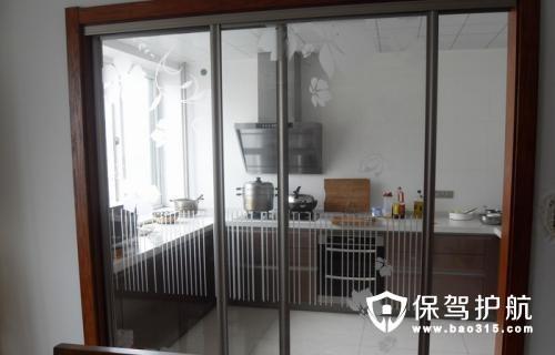 厨房推拉门造型设计