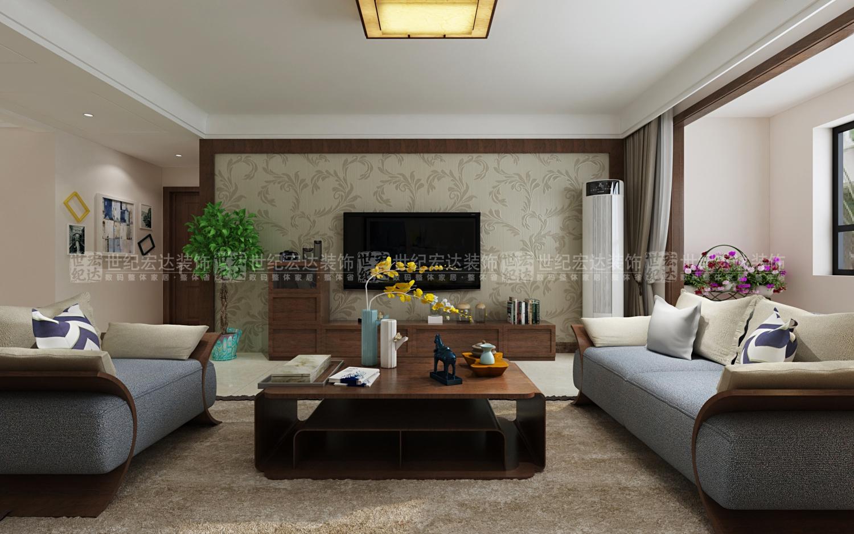 济南东城逸家160平新中式风格