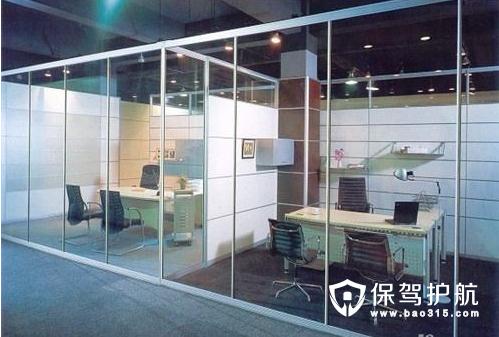 玻璃隔墙的分类和设计要点