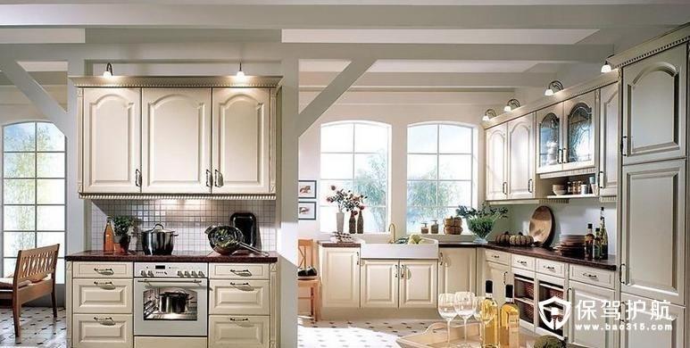厨房和客厅相连怎么装修