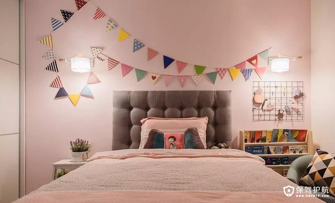 满足女孩公主梦的北欧儿童房装修效果图