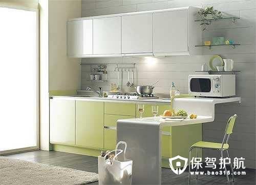 小户型如何装修一个开放式厨房