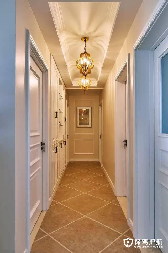 简约美式温馨情趣走廊装修效果图