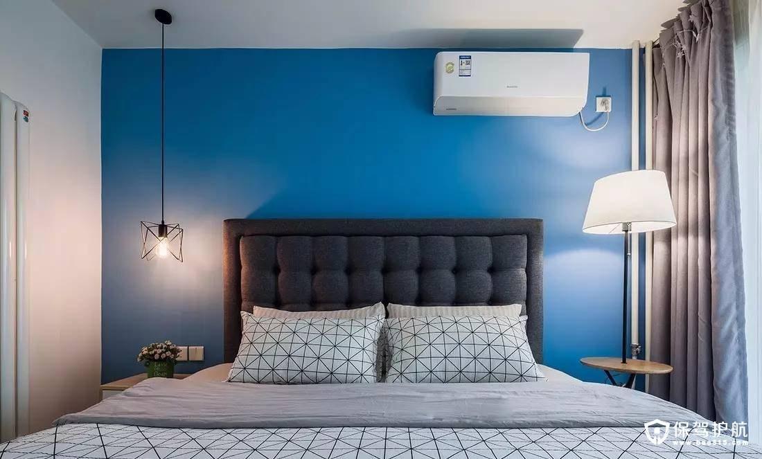 明亮清爽北欧卧室装修效果图