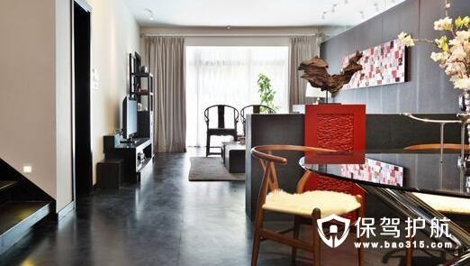 现代中式家装效果图