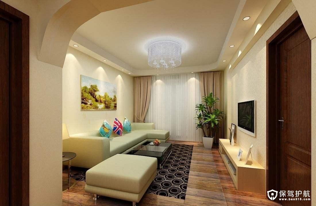 小户型客厅装修用什么颜色