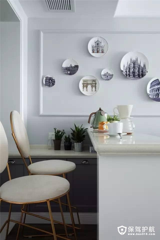 情调简洁美式风格小吧台装修效果图