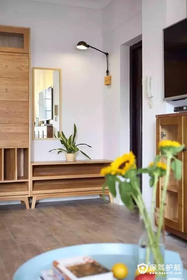 三居室旧房改造北欧风格装修效果图