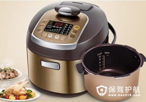 美的电压力锅使用方法